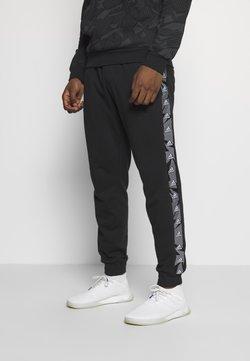 adidas Performance - ESSENTIALS TRAINING SPORTS PANTS - Verryttelyhousut - black/white