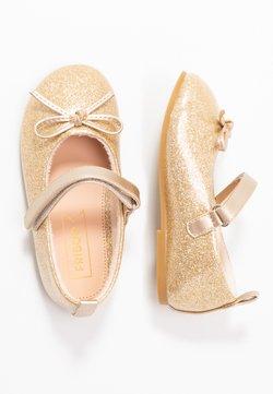 Friboo - Bailarinas con hebilla - gold