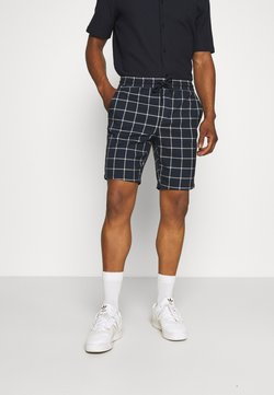 Only & Sons - ONSLINUS CHECK - Shorts - dress blues