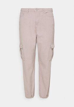 Missguided Plus - CARGO - Relaxed fit jeans - grey