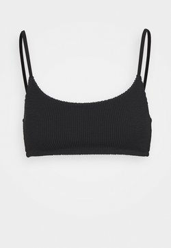 Weekday - SUNNY STRUCTURE SWIM - Bikinitop - black
