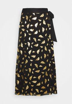 Diane von Furstenberg - NALANI - Jupe trapèze - black/gold