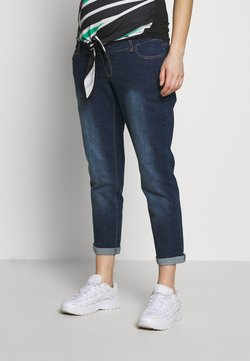 Dorothy Perkins Maternity - OVERBUMP MOM - Relaxed fit jeans - inidgo