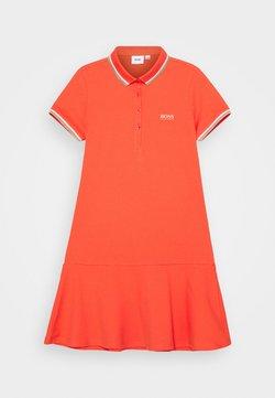 BOSS Kidswear - DRESS - Freizeitkleid - peach