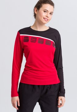 Erima - Funktionsshirt - red/black/white