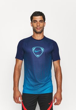 Nike Performance - ACADEMY - T-shirt con stampa - blue void/imperial blue
