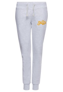 Superdry - SUPERDRY COLLEGIATE SCRIPTED  - Jogginghose - ice marl