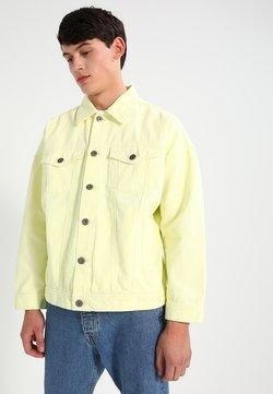 Urban Classics - OVERSIZE FIT - Jeansjacke - powder yellow