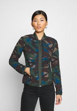 Guess - VERA REVERSIBLE JACKET - Light jacket - olive/khaki