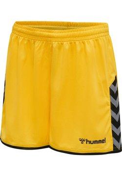 Hummel - HMLAUTHENTIC  - Korte broeken - sports yellow/black