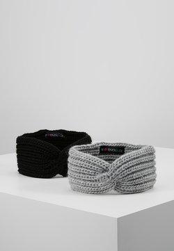 Even&Odd - 2 PACK - Oorwarmers - grey/black
