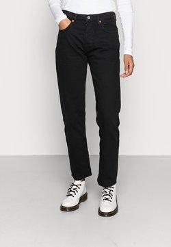 Levi's® - 501® CROP - Jeans straight leg - black heart