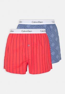 Calvin Klein Underwear - SLIM FIT 2 PACK - Boxershorts - orange