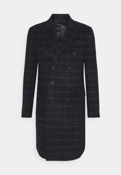 Isaac Dewhirst - PEAK COAT - Wollmantel/klassischer Mantel - dark blue