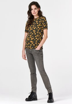 Supermom - POPPY - T-shirt print - honey mustard