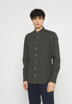 Marc O'Polo - BUTTON DOWN LONG SLEEVE INSERTED - Hemd - multi/pesto