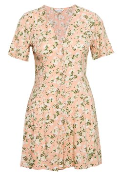 Miss Selfridge - ELENA TEA PLAYSUIT - Combinaison - pink