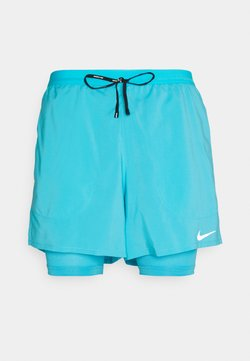 Nike Performance - Pantalón corto de deporte - chlorine blue/silver