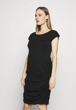 GAP Maternity - SHIRRED - Vestido ligero - true black