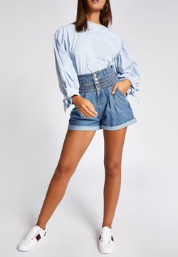River Island - Jeans Shorts - blue