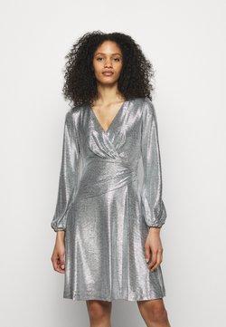 Lauren Ralph Lauren - DRESS - Cocktailkleid/festliches Kleid - dark grey/silver