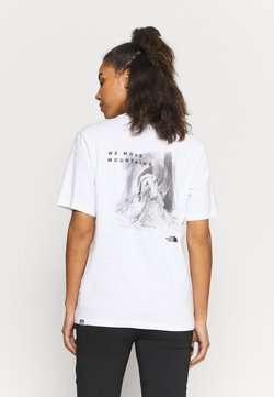 The North Face - INTERNATIONAL WOMENS DAY TEE - T-Shirt print - white