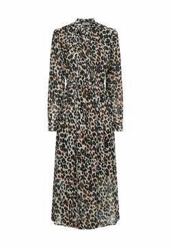Calvin Klein - Freizeitkleid - white black leopard  print