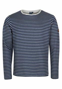 Elkline - Sweatshirt - darkblue-white