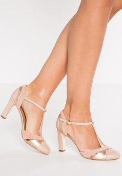 Anna Field - LEATHER HIGH HEELS - Zapatos altos - nude