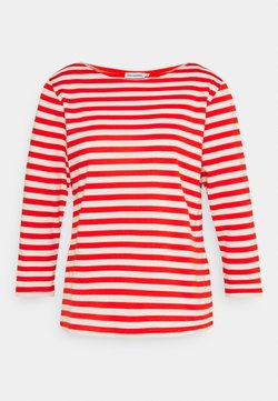 Marimekko - ILMA  - Langarmshirt - orange red/light beige