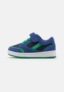 Kickers - BISCKUIT - Sneaker low - bleu/vert