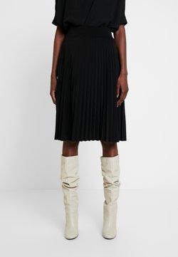Anna Field - Plisse A-line mini skirt - Gonna a campana - black