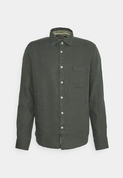 Marc O'Polo - KENT COLLAR LONG SLEEVE INSERTED - Hemd - mangrove