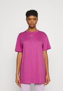 Nike Sportswear - DRESS - Vestito di maglina - active fuchsia/white