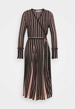 Diane von Furstenberg - EDELINE - Maxikleid - black/pale pink