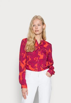 Emily van den Bergh - BLOUSE - Bluse - pink/red