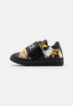 Versace - UNISEX - Trainers - black/gold/white