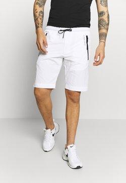 Calvin Klein - REGULAR FIT CRINKLE - Jogginghose - white