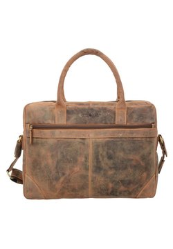 Greenburry - VINTAGE - Aktentasche - nut brown