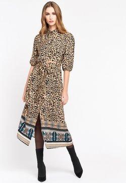 LolaLiza - LEOPARD PRINT - Robe chemise - brown
