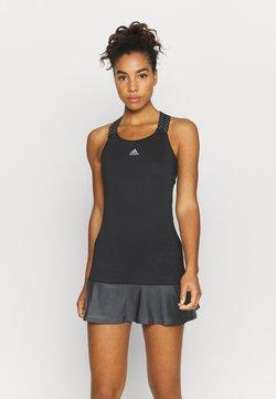 adidas Performance - GAMESET AEROREADY SPORTS TENNIS SLIM DRESS - Robe de sport - black/grey