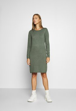 edc by Esprit - DRESS - Gebreide jurk - khaki green