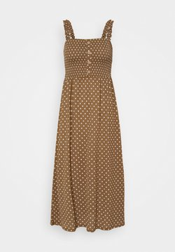 ONLY - ONLPELLA DRESS - Maxikleid - toasted coconut