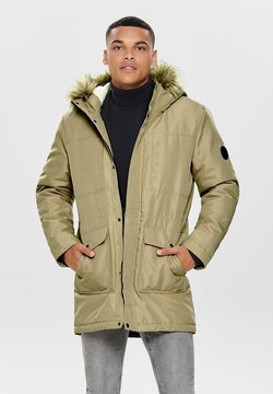 Only & Sons - ONSBASIL JACKET NOOS - Wintermantel - olive