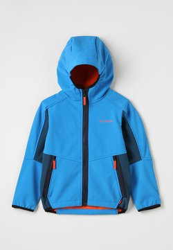 Vaude - KIDS RONDANE JACKET III - Softshelljacke - baltic sea