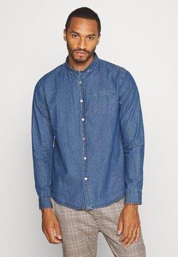 Brave Soul - NARRATOR - Camisa - mid denim blue