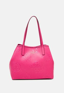 Guess - VIKKY TOTE SET - Handtasche - cheeky pink