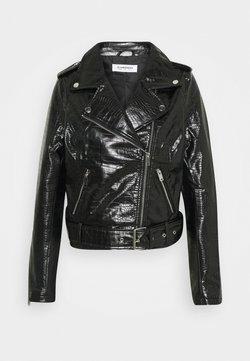Glamorous - JACKET - Leather jacket - black