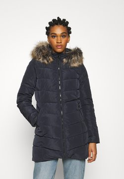 ONLY - ONLNEWMINEA QUILTED HOOD COAT - Parka - night sky