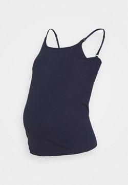 Anna Field MAMA - NURSING FUNCTION cami top - Top - dark blue